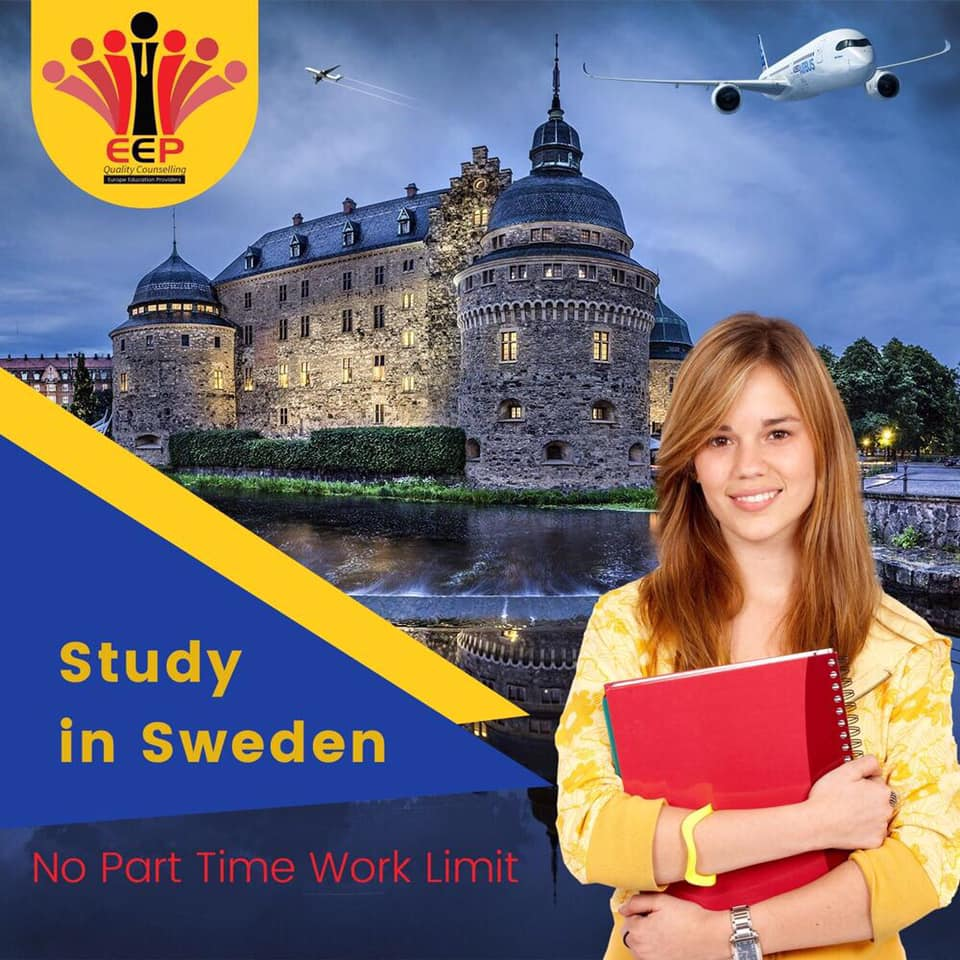 Study In Sweden With No Part Time Work Limit