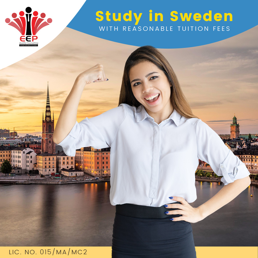 Study Sweden With Reasonable Fees